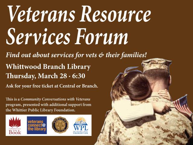 Veterans Resource Services Forum